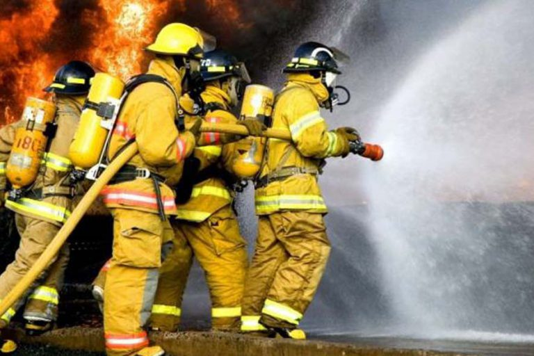 Combined Basic and Advanced Firefighting (Blended)